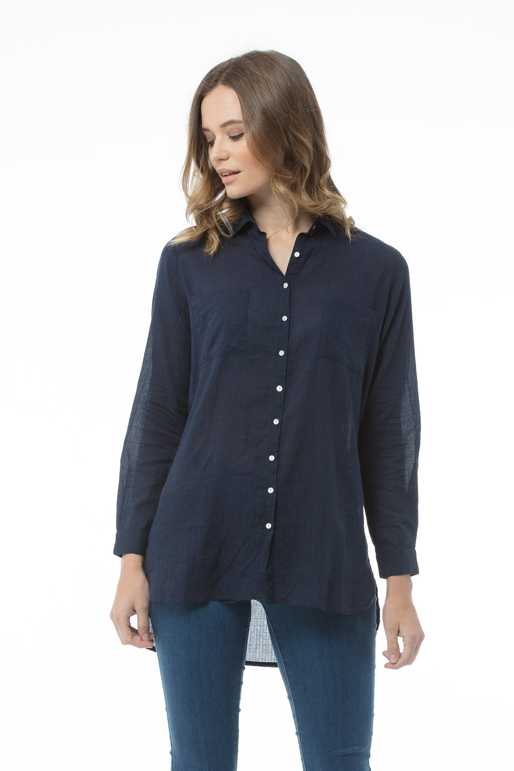 HEDDA Top - Navy