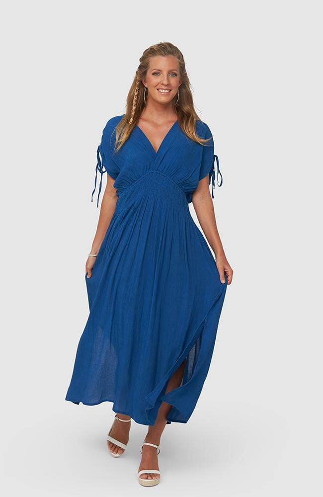 HOLLY Dress | Classic Blue