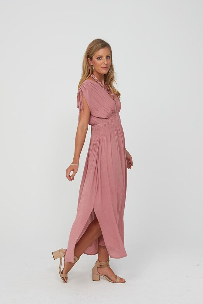 HOLLY Dress | Dusty Pink