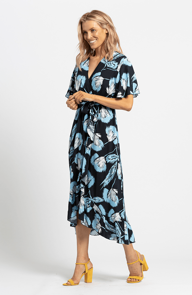 HOPE Dress - Navy Floral