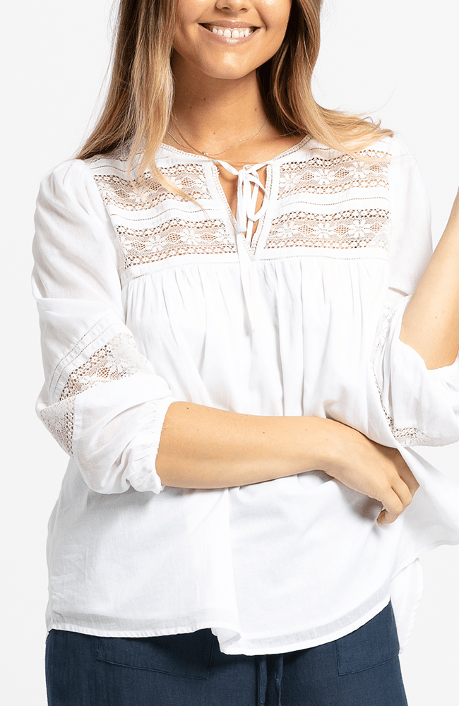 ISA Top - White