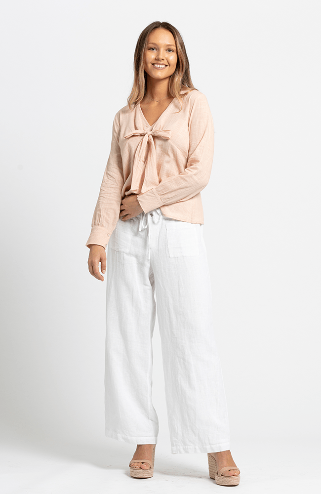 JADA Pants - Fully Lined - White