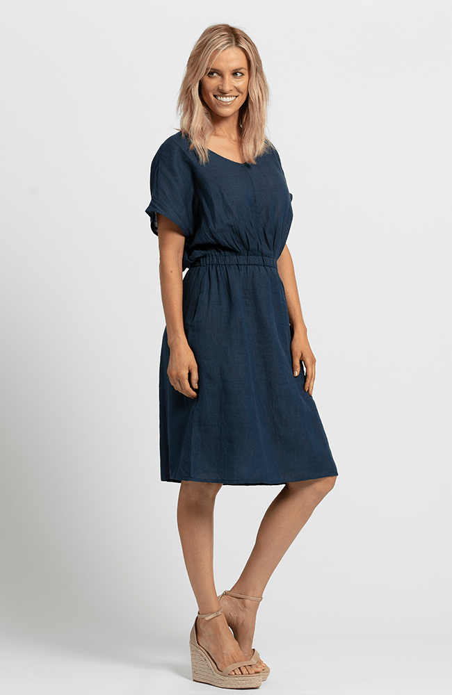 JILLY Dress - Navy