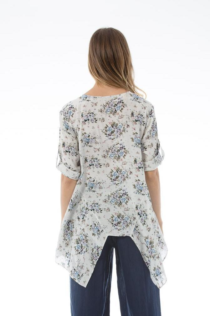 JUDE Top - Floral print