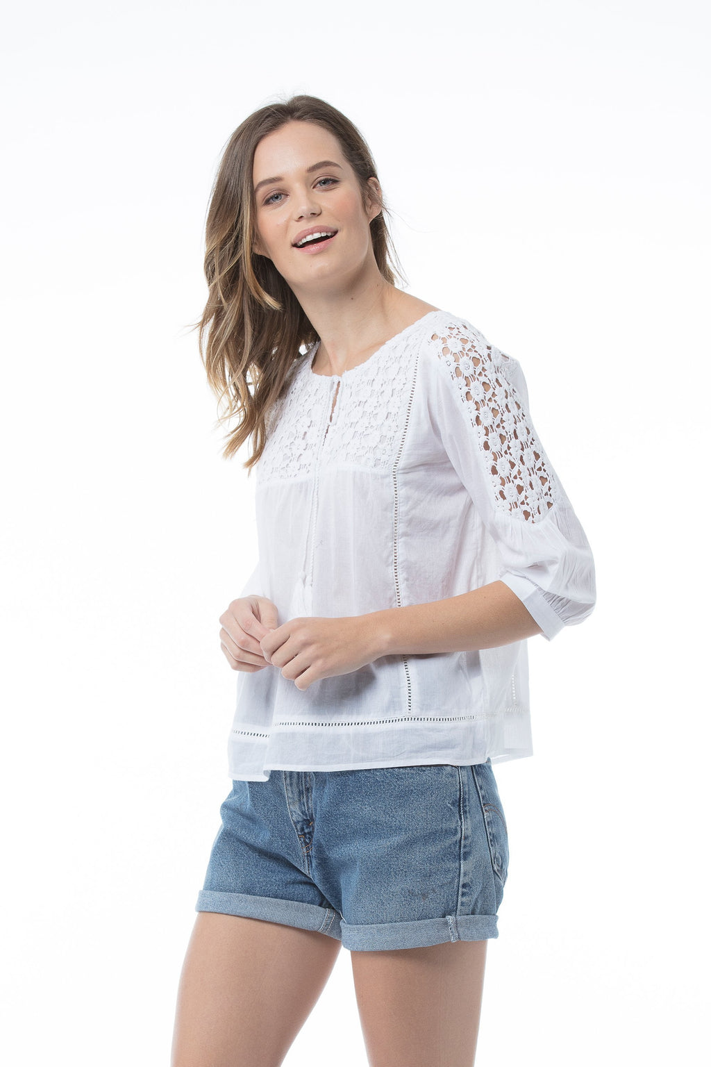 Aliya Top - White