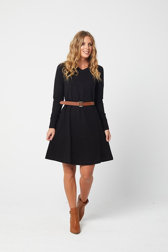 LAURISSA Dress -Black