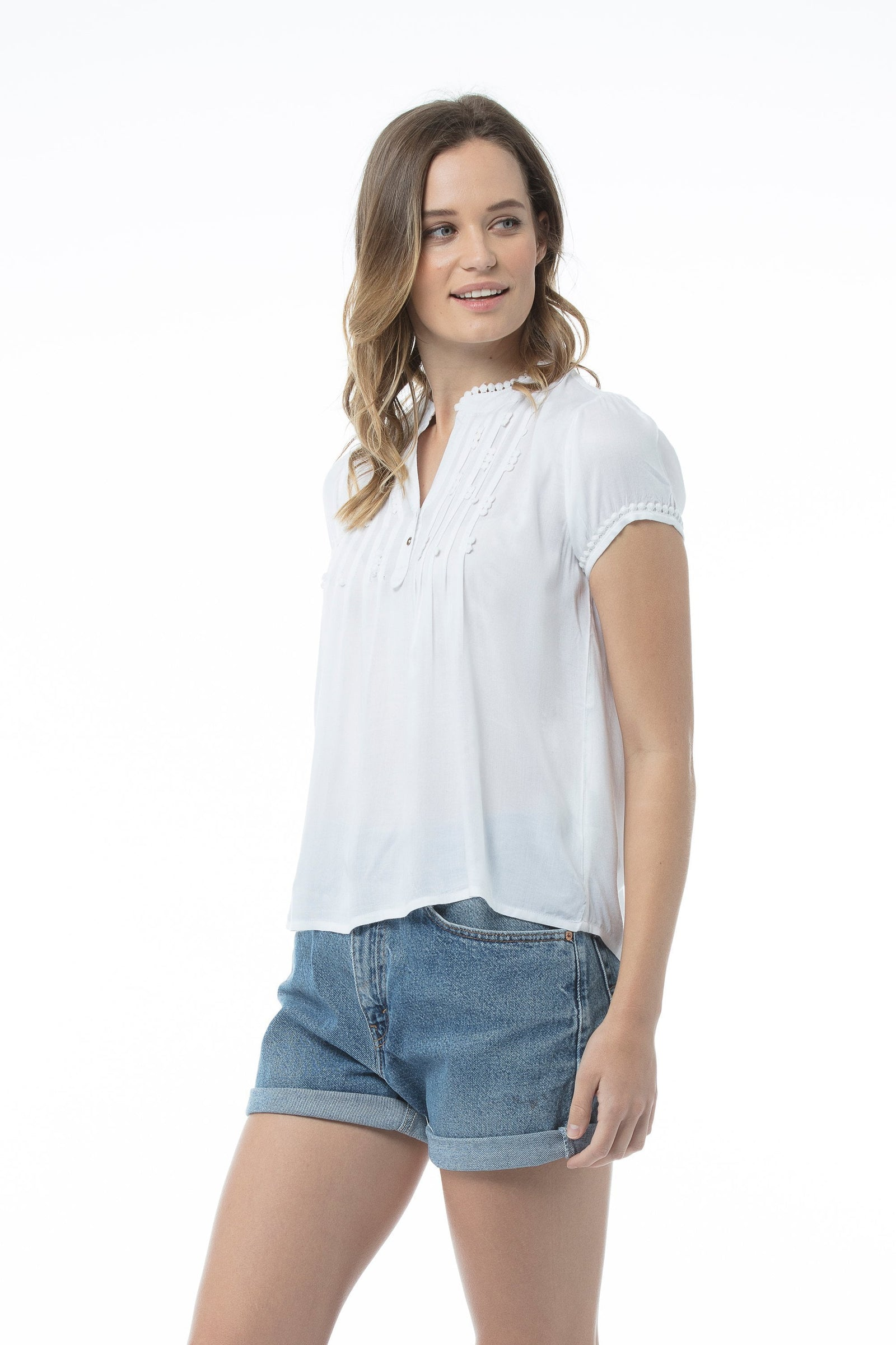 LILIAN Top - White
