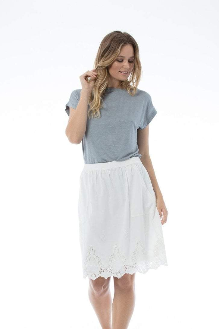 LOUISE Skirt - White