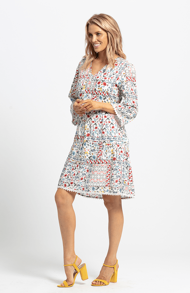 LYNDSEL Dress - Floral Print