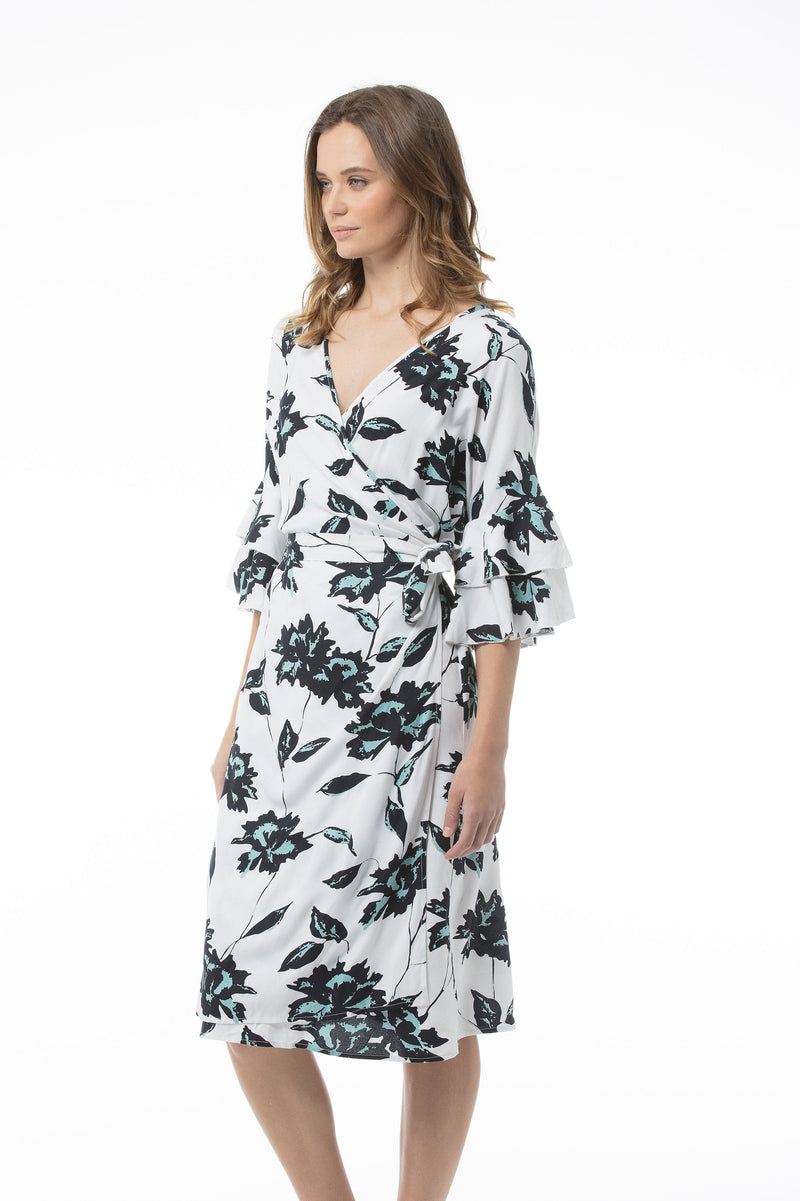 MARIAM Dress - White Floral
