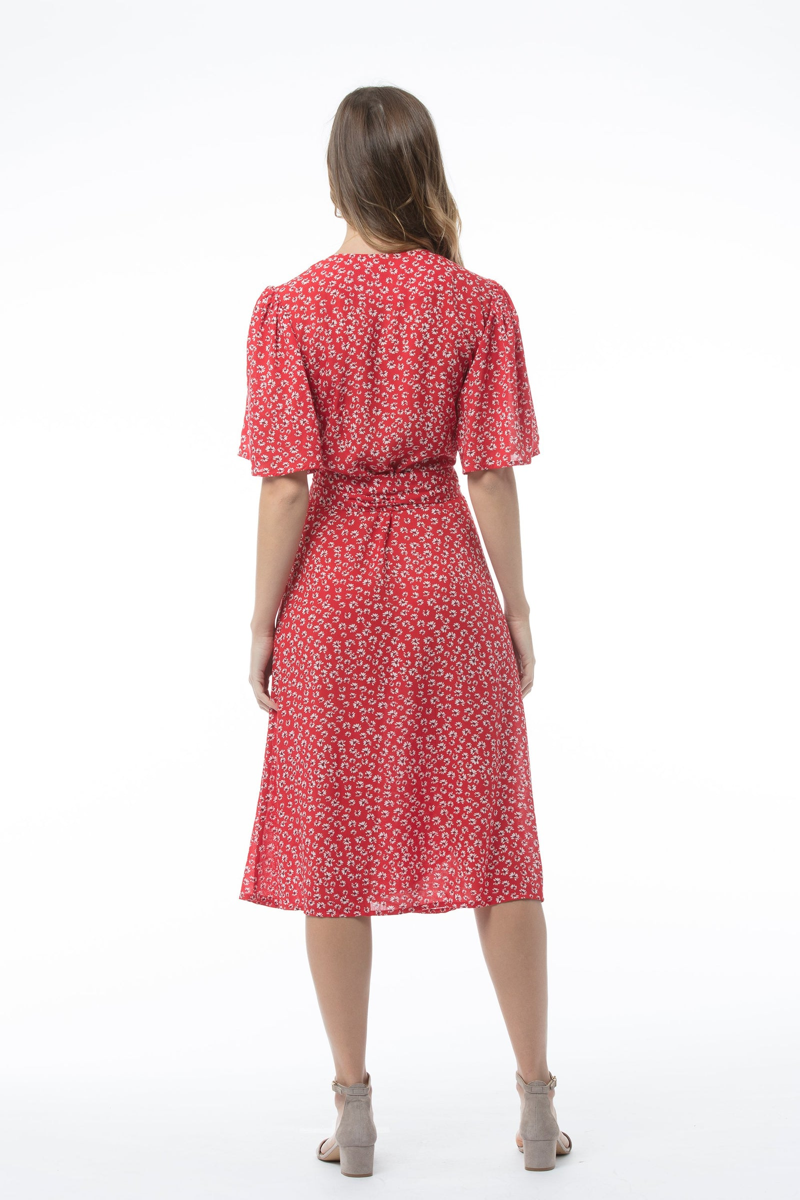 MARTHA Dress - Red Print