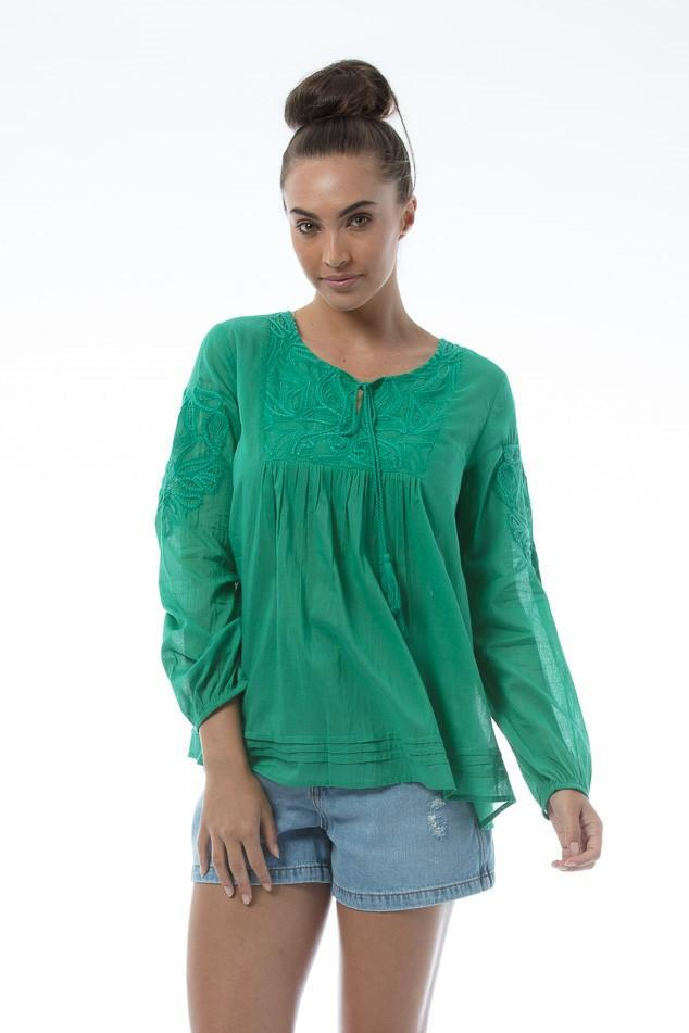 NIKITA Top - Green