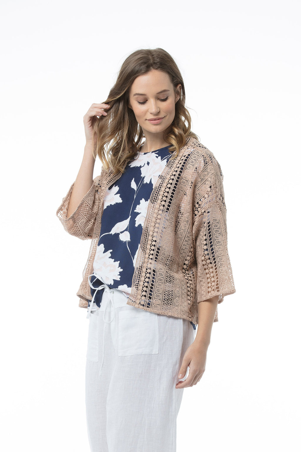NOA Cardigan - Rose