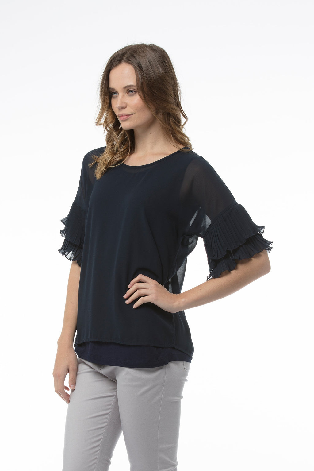 penelope-top-navy