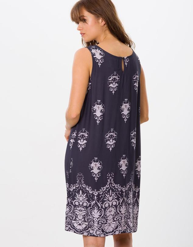 PETRA - Dress Grey Floral
