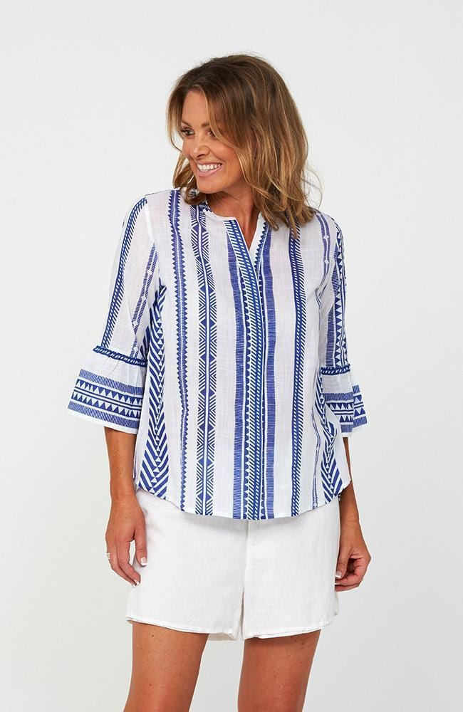 PHOEBE Top | Blue Print