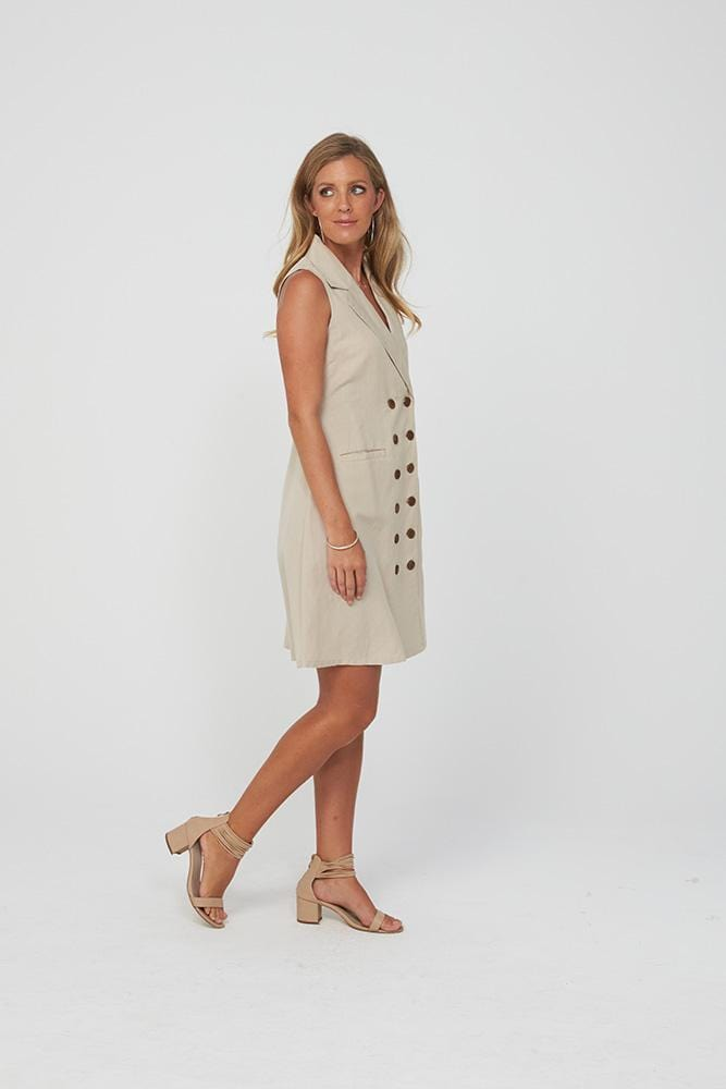 ROANNA Dress | Natural