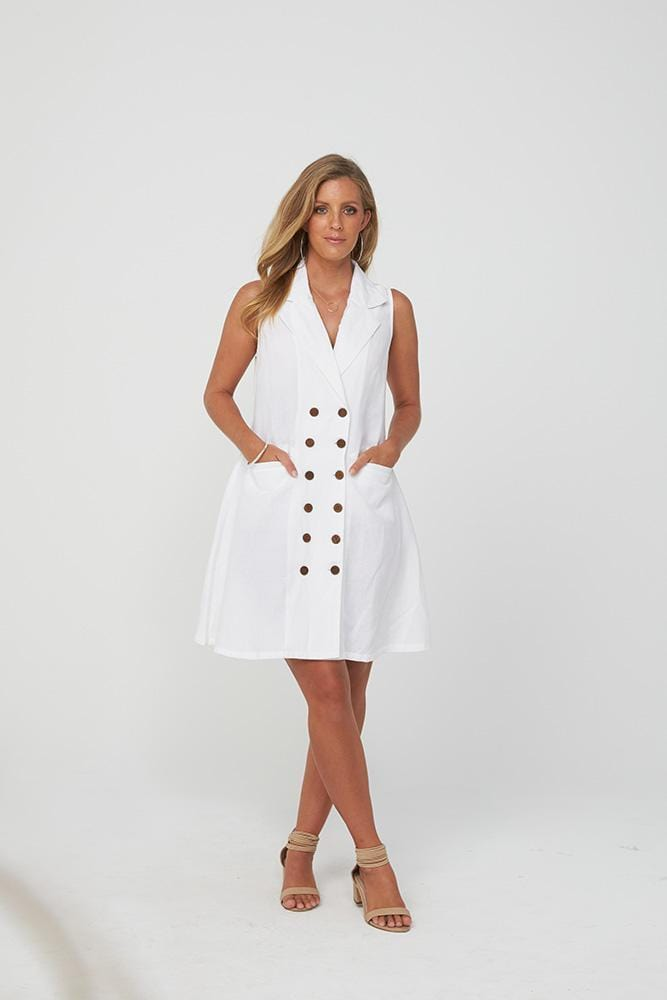 ROANNA Dress | White
