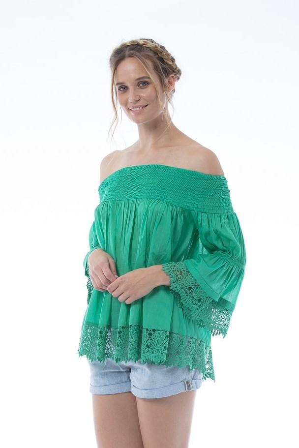 ROSALIE Top - Green