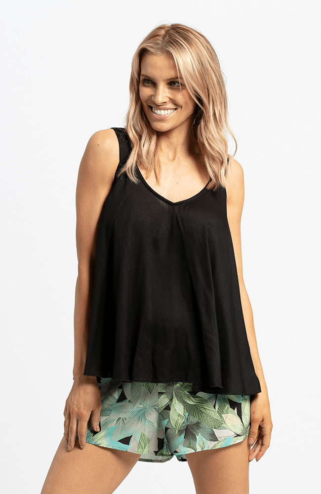 ROXANNE Top - Black