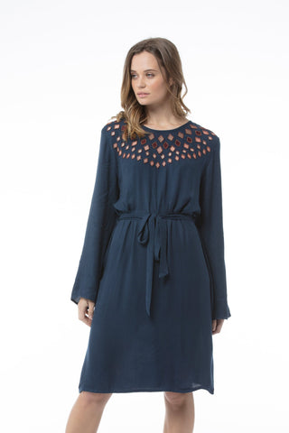 Sandy Dress - Blue