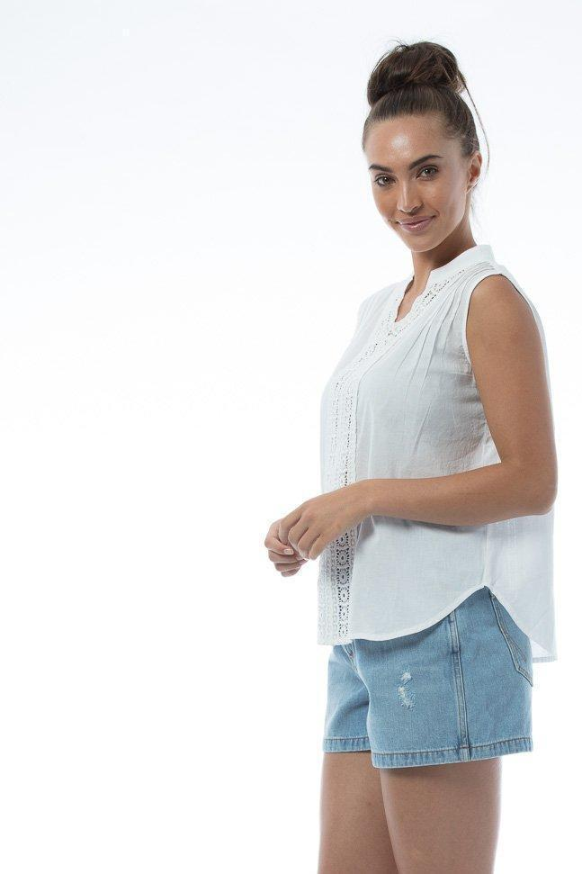 SHANNON Top - White