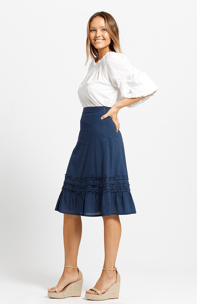 SHELLY Skirt - Navy
