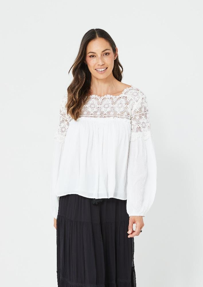 Sheree Top | White