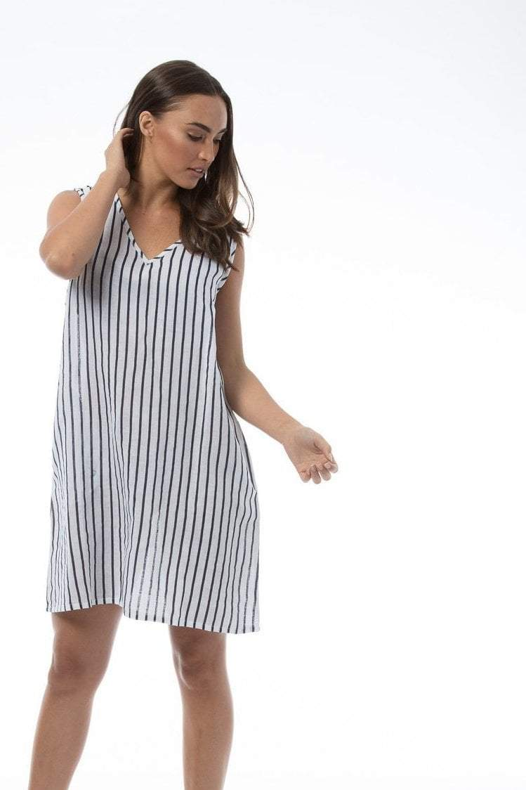 STEPH Dress - STRIPE
