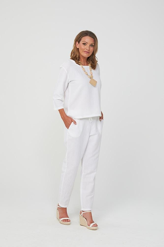 NATALIE Pants | White