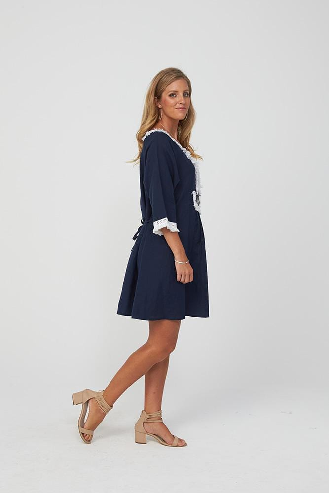 JEMILLE Dress | Navy