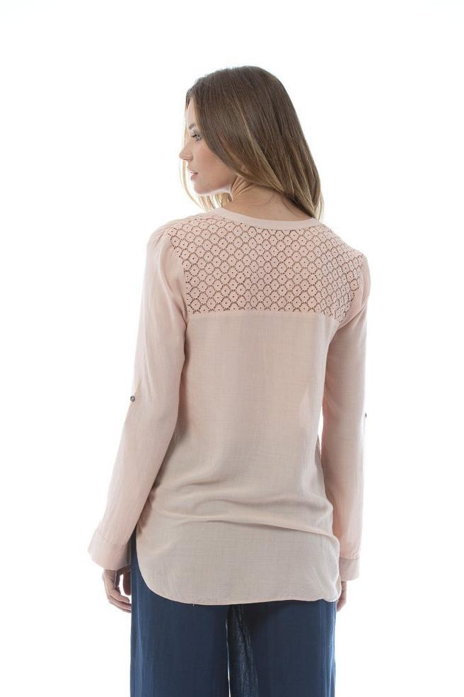 TEAGAN Top - Rose