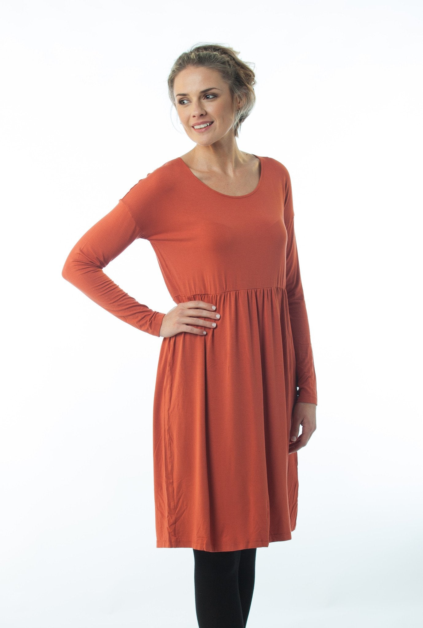 Trixie Dress Orange