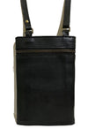 Venice Leather Travel Bag - Black