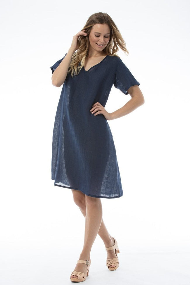 WILLA Dress - Navy