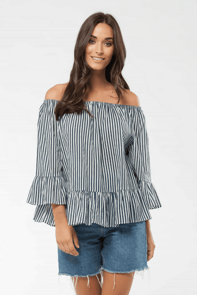 WILLOW - Top Midnight Stripe
