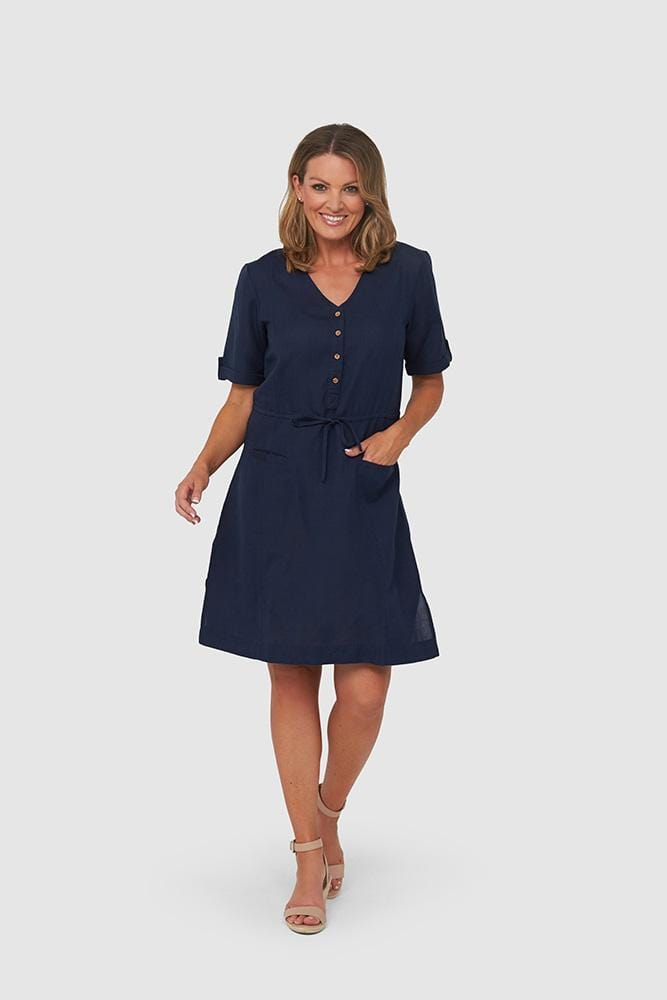 YARA Dress | Navy