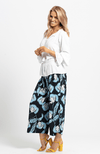 ZARIA Culottes - Navy Floral