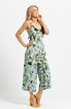 ZULU Jumpsuit - Green Print