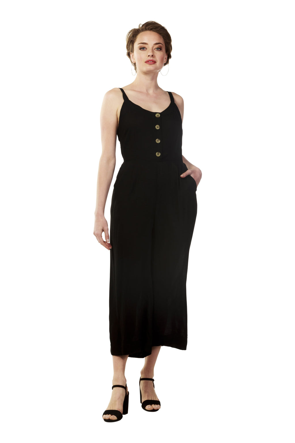 ZULU Jumpsuit - Black