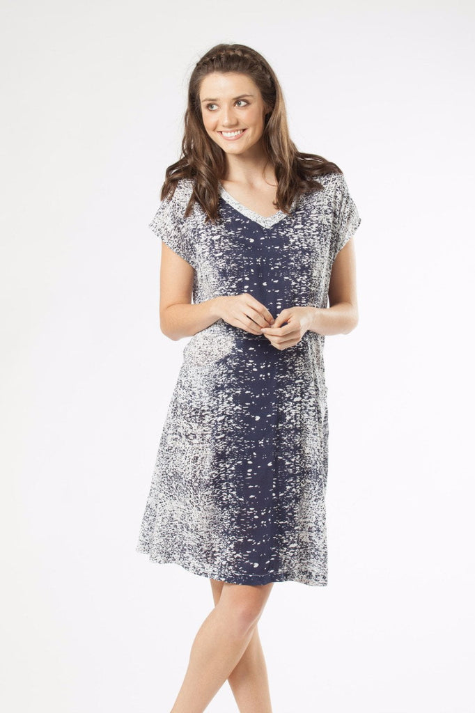 PETONIA - Dress in Print
