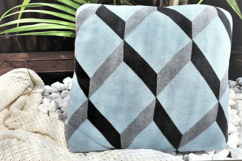 KARLSTAD Cushion Cover - Blue