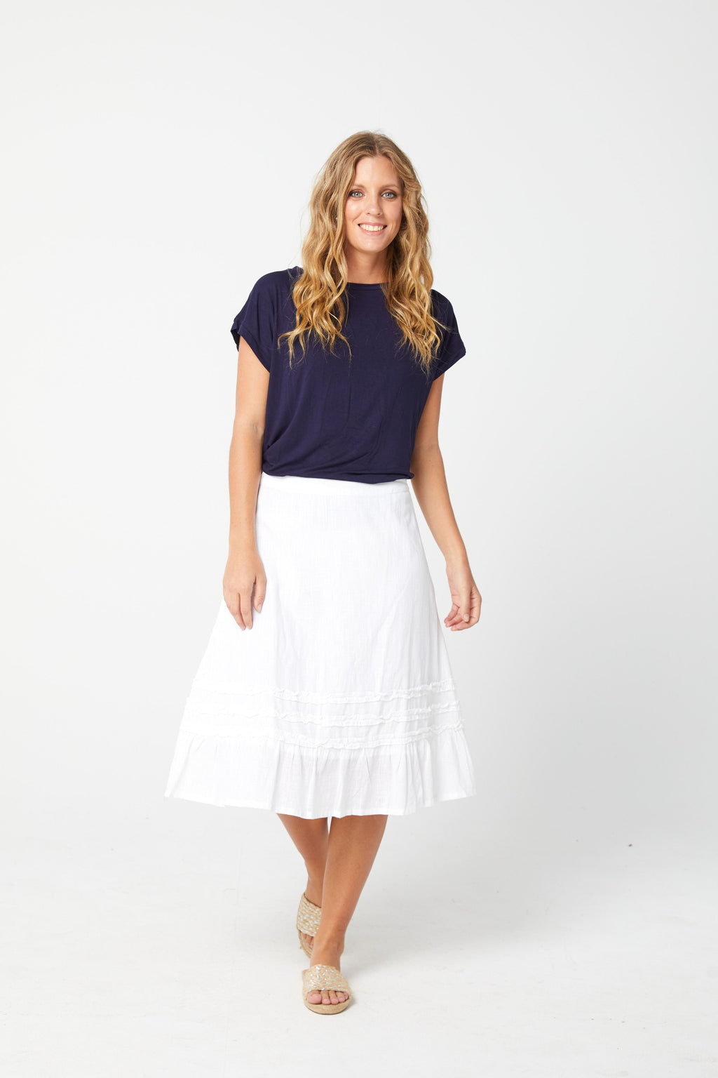 SHELLY Skirt - White