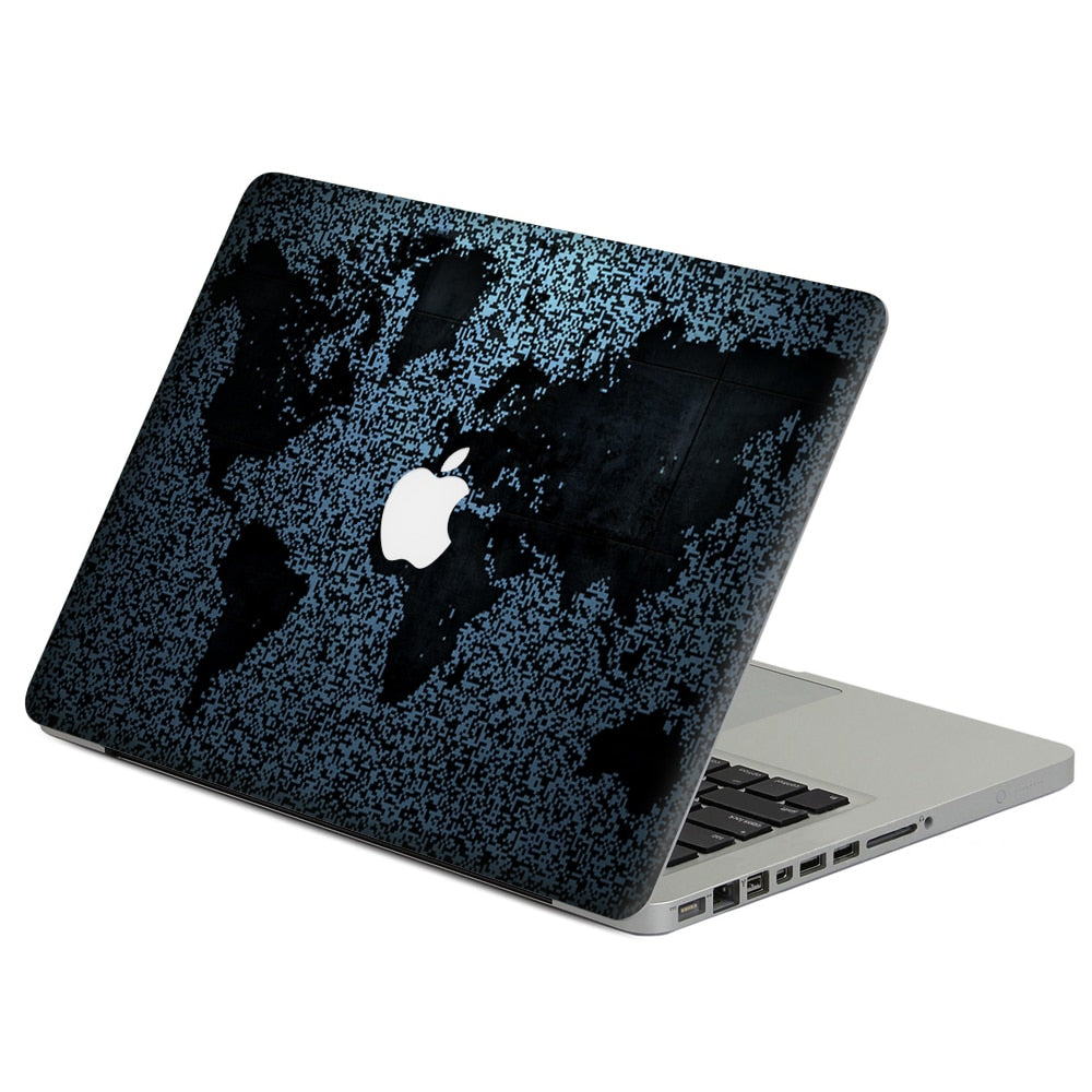 Abstract map  MacBook protective skin
