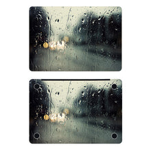 Load image into Gallery viewer, Rain on Window Full Cover Skin Laptop Sticker