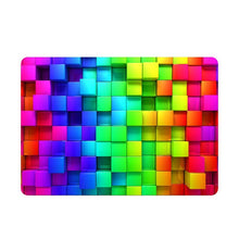 Load image into Gallery viewer, Rainbow 3D Cube Laptop Sticker