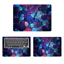 Load image into Gallery viewer, Mosaic Glass Laptop Skin Sticker