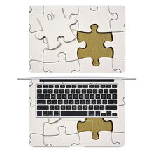 Load image into Gallery viewer, 3D Puzzle Texture Laptop Full Cover Skin for Macbook Pro Air Retina 11 12 13 15 inch Mac Dell Protective Notebook Decal Sticker