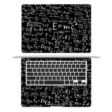 Load image into Gallery viewer, Einstein Math Formula Laptop Sticker Full Cover Skin