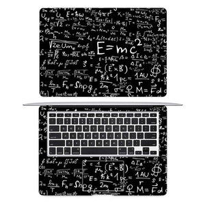 Einstein Math Formula Laptop Sticker Full Cover Skin